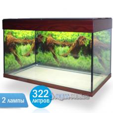 Аквариум Классик-322 2 лампы