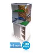 Террариум Ильтерра - 100 литров - террариум для игуан и хамелеона