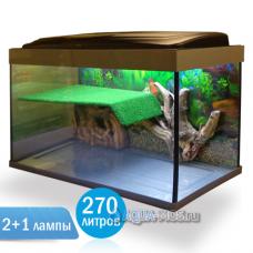 Террариум Престиж-270 литров - террариум для красноухой черепахи