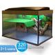 Террариум Престиж-320 литров - террариум для красноухой черепахи