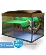 Террариум Престиж-350 литров - террариум для красноухой черепахи