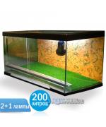 Террариум Тартл-ленд С200 для сухопутных черепах
